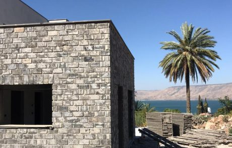 בריק מפירוק אפור רחב חיפוי קירות חיצוניים