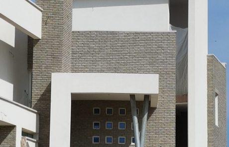 בריק רטרו אפור חיפוי קירות חוץ