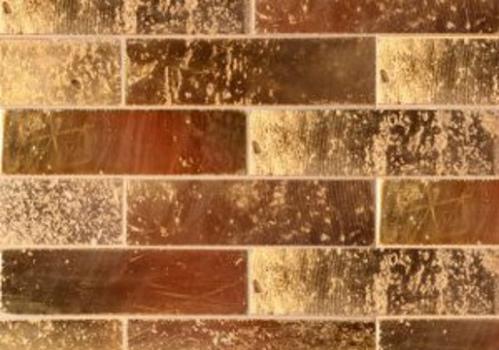 בריק אבן טבעית מוזהב