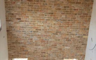 בריק מפירוק ענתיק גריי צר - חיפוי קירות פנים