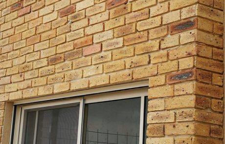בריק מפירוק צהוב - חיפוי קירות חוץ