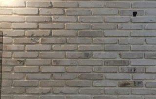 בריקים מפירוק לבן חזית צרה - חיפוי קירות פנים