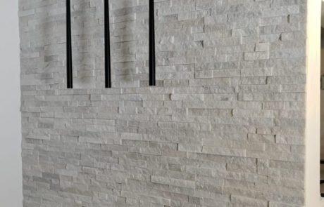 בריק צפחה שלג - חיפוי קירות פנים