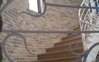 בריק רטרו חימר דגם קפוצינו - חיפוי גרם מדרגות